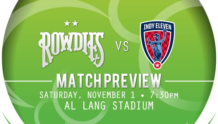 Match Preview: Rowdies Host Indy Eleven on Fan Appreciation Night