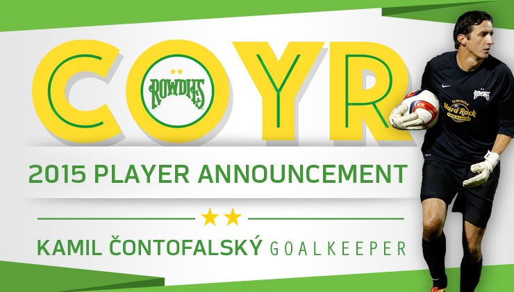 Rowdies Sign Experienced European Goalkeeper Kamil Contofalsky
