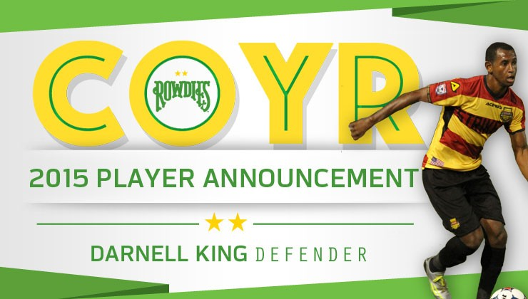 Rowdies Sign Tampa Bay Native Darnell King