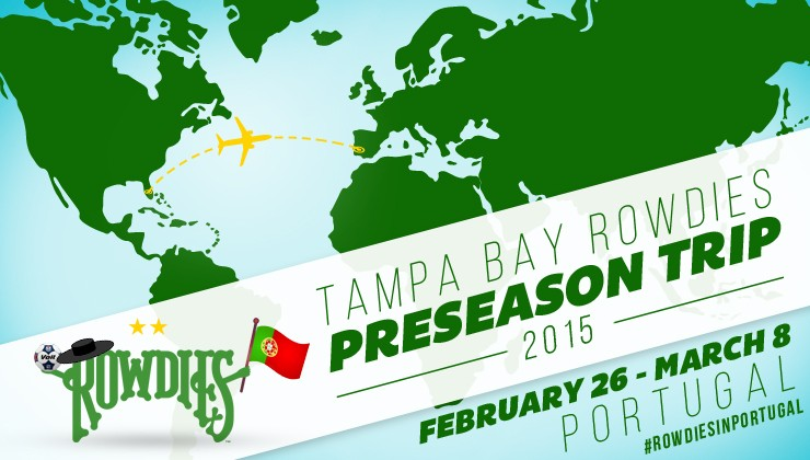 Rowdies Head to Portugal for Preseason Tour