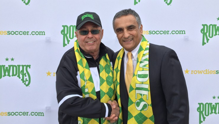 Rowdies Name Farrukh Quraishi President and General Manager