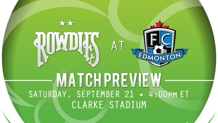 Match Preview: Rowdies Travel North of the Border to Face FC Edmonton
