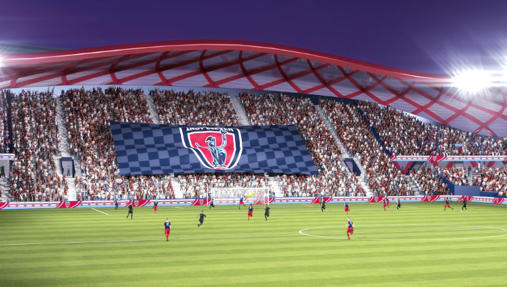 NASL's Indy Eleven Launches Stadium For Indiana Website