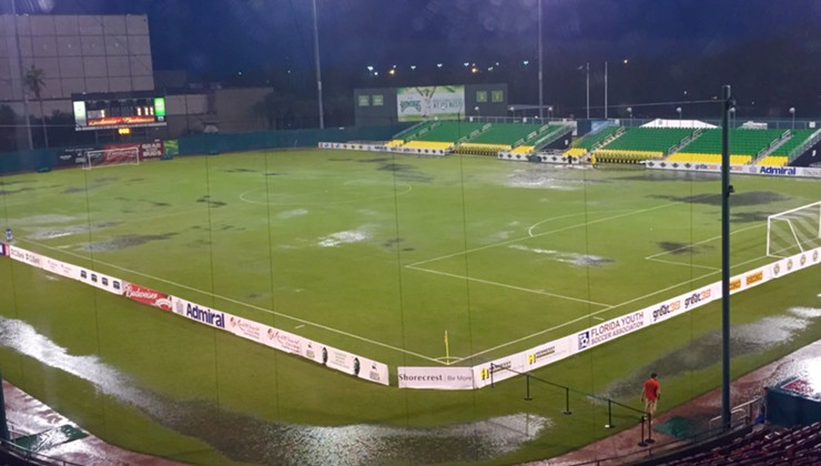 Rowdies Rainout Rescheduled for October 8