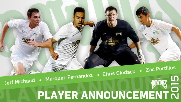 Rowdies Add Four Young Prospects to 2015 Roster