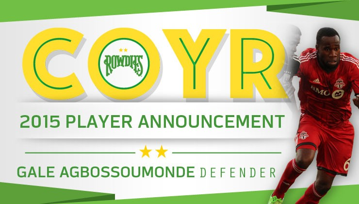 Rowdies Bolster Roster with Addition of Gale Agbossoumonde