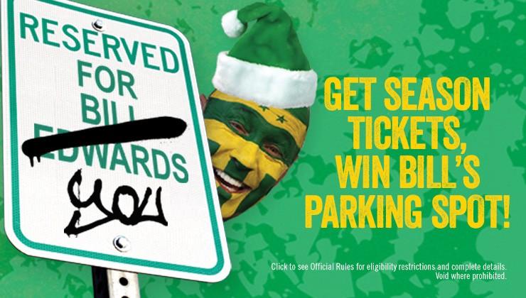 Win Bill's Parking Spot Sweepstakes