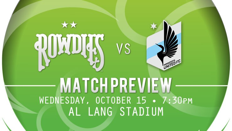 Match Preview: Season Series On The Line As Rowdies Host Minnesota United