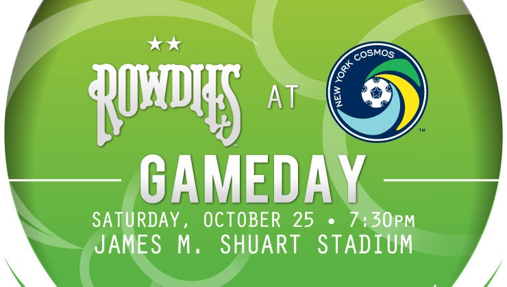 Gameday: Rowdies Take on New York Cosmos