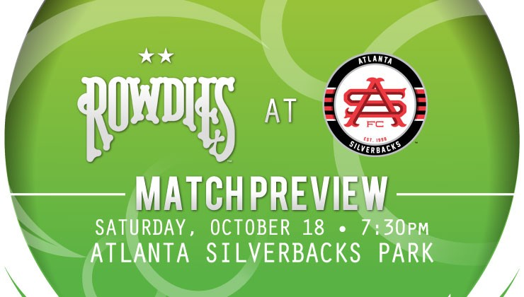 Match Preview - Rowdies Visit Atlanta Silverbacks
