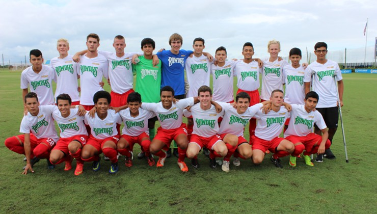 Chargers SC/Rowdies Academy To Participate in Upcoming 2014 USSDA U-16 & U-18 Winter Showcase