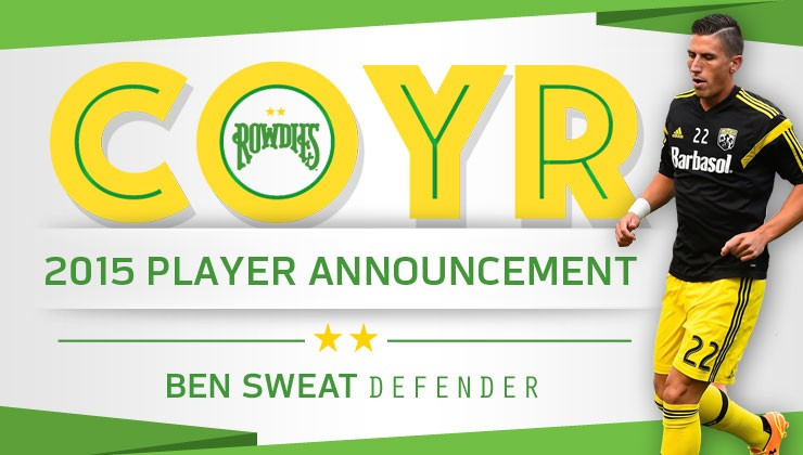 Rowdies Sign USF and Chargers SC Alum Ben Sweat