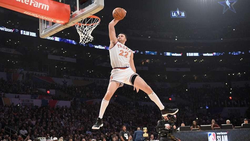 [宮地陽子コラム第89回]初代NBAダンクコンテスト王者の父の背中を追い続けるラリー・ナンスJr.
