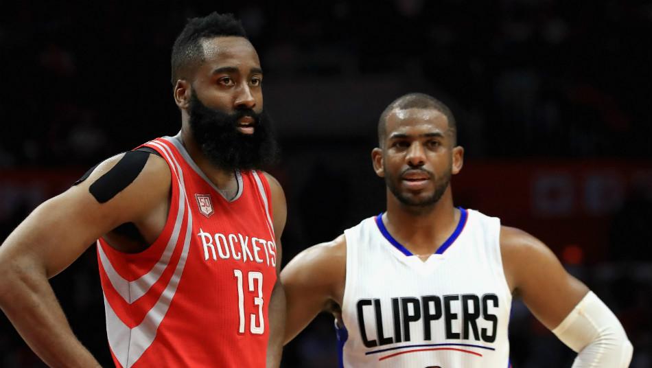 James Harden Houston Rockets Chris Paul LA Clippers