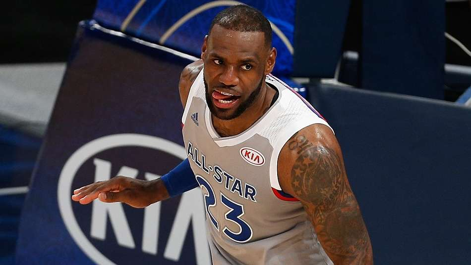 NBAオールスター投票2018 第2回途中経過発表、レブロン・ジェームズが全体1位に