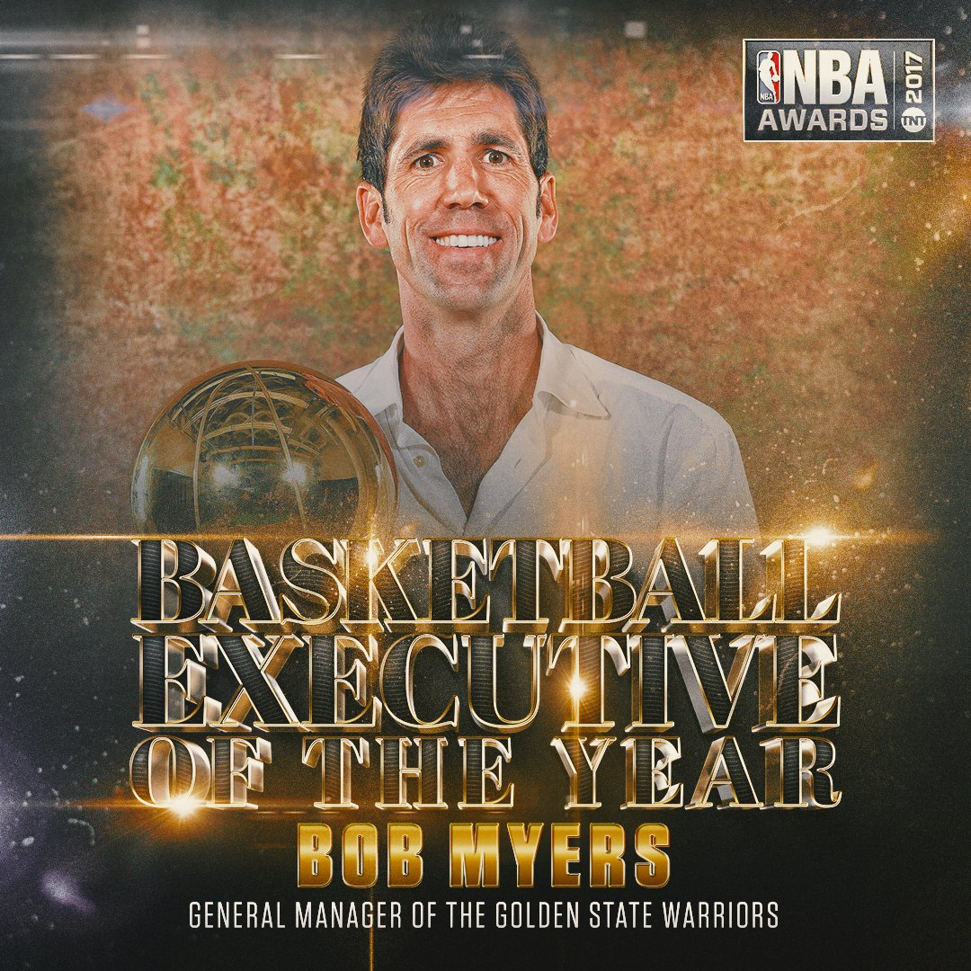 Executive of the Year Bob Myers