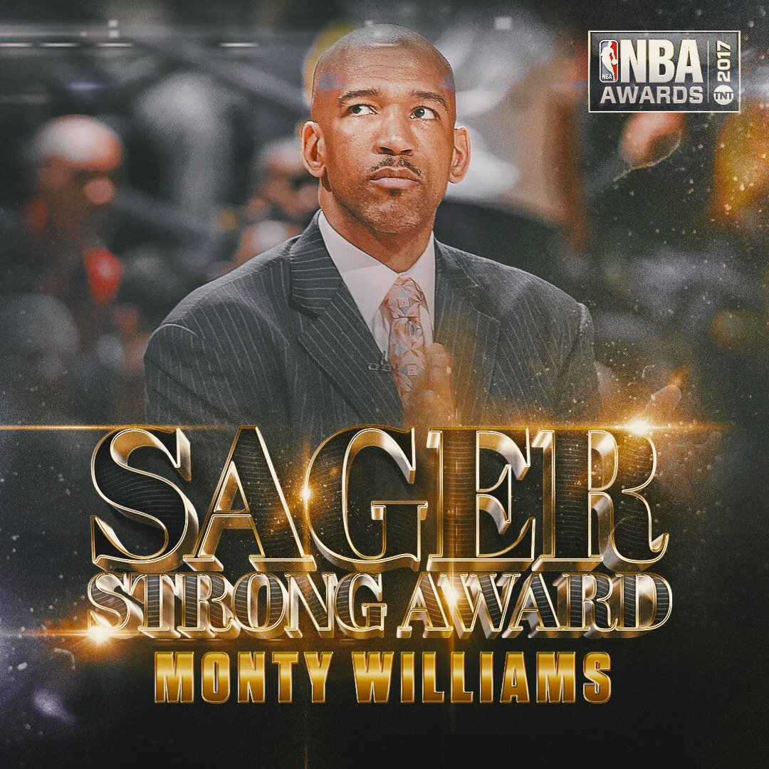 Sager Strong Award Monty Williams