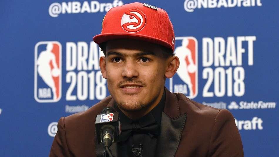 NBAドラフト2018 全体5位指名選手トレイ・ヤング「日々の練習で努力して、試合に勝てるように努力する」