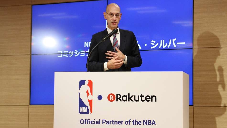 アダム・シルバーNBAコミッショナー「今、日本ではバスケットボールがとても勢いに乗っている」