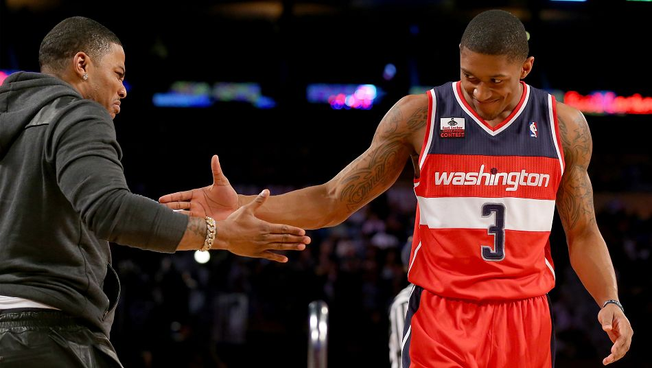 Bradley Beal Wizards Nelly