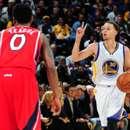 Stephen Curry Warriors Hawks Jeff Teague