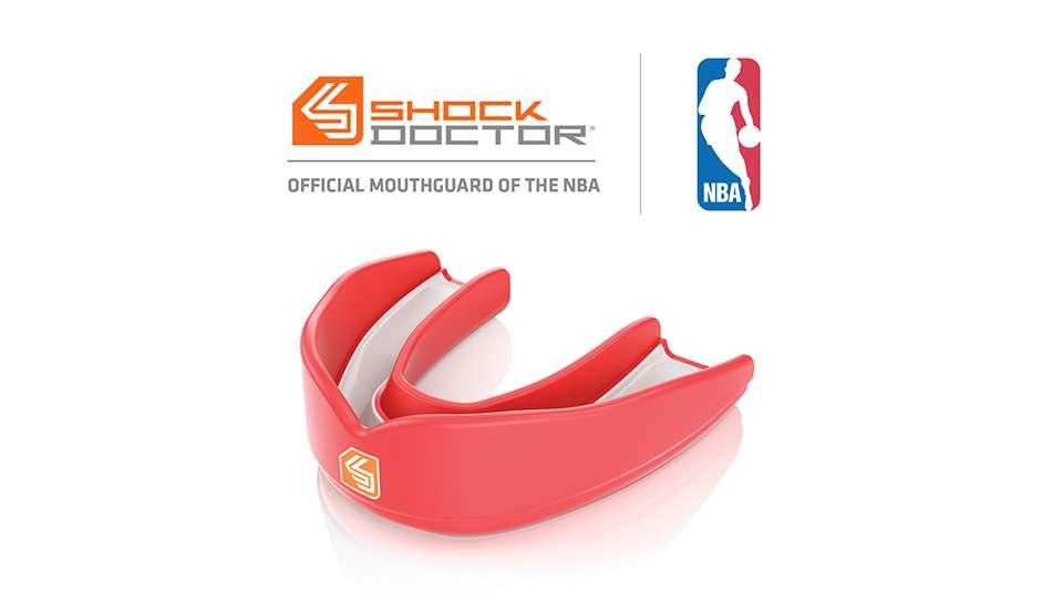 NBAがマウスガードメーカーShock Doctorと提携