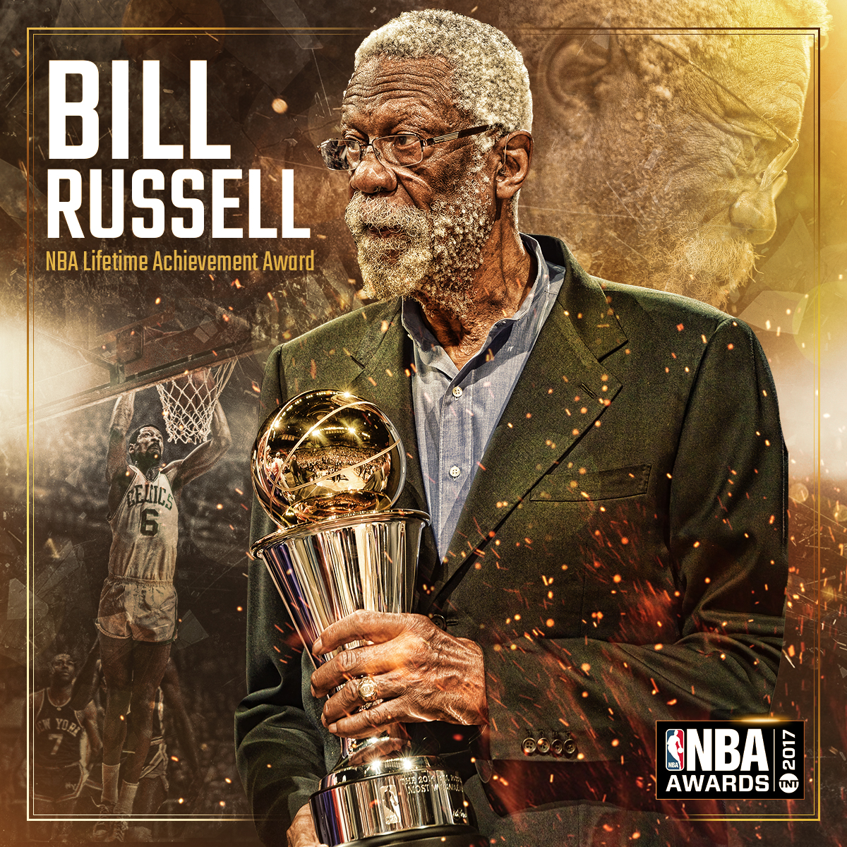 2017 Lifetime Achievement Award Bill Russell