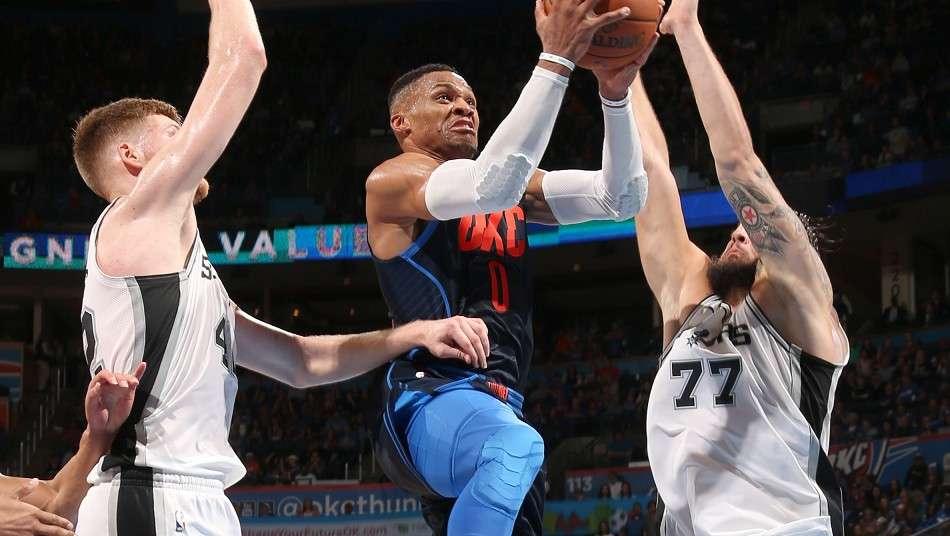 サンダーがスパーズに勝利、今季7回目のトリプルダブル達成のラッセル・ウェストブルックは「NBAでの勝利はいつだって素晴らしい結果」