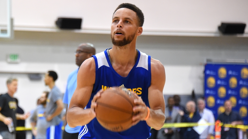 Stephen Curry NBA Finals 2017 practice 2017/6/11