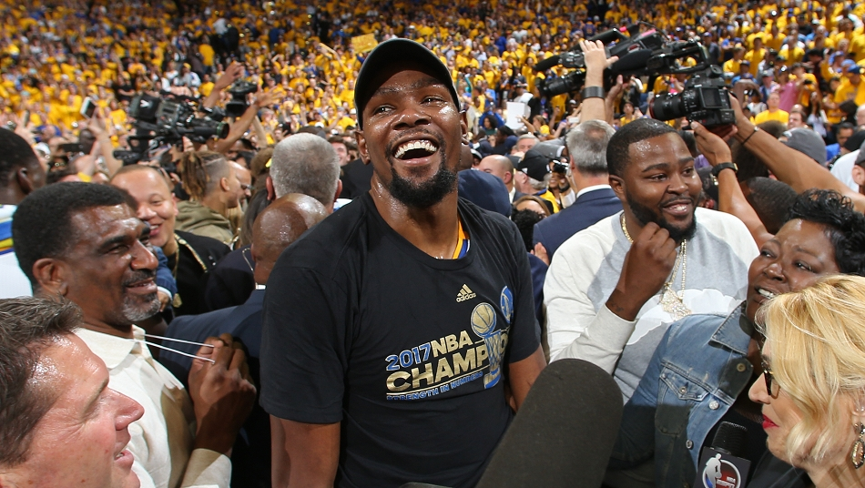 NBA Finals 2017 Kevin Durant
