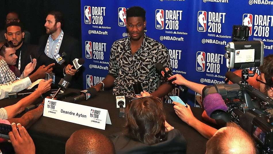 NBAドラフト2018 上位指名有力のディアンドレ・エイトン「1位指名されたらとても幸せ」