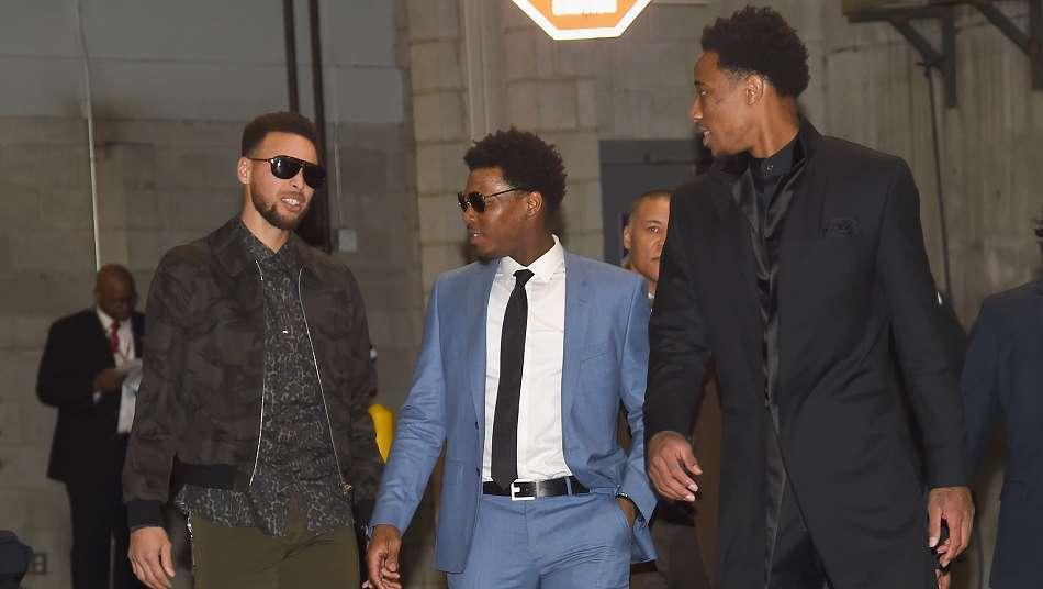 NBAオールスター2018 私服ショット集