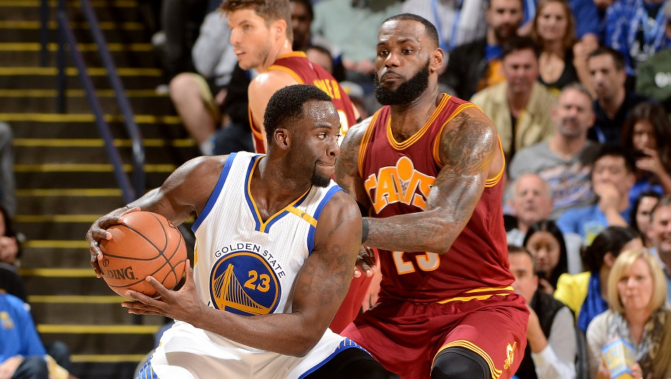 Draymond Green Warriors LeBron James Cavaliers