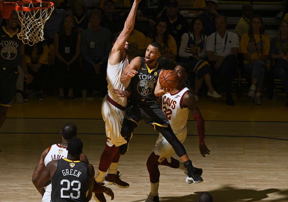 [ギャラリー]NBAファイナル2018 第2戦:ゴールデンステイト・ウォリアーズ vs クリーブランド・キャバリアーズ
