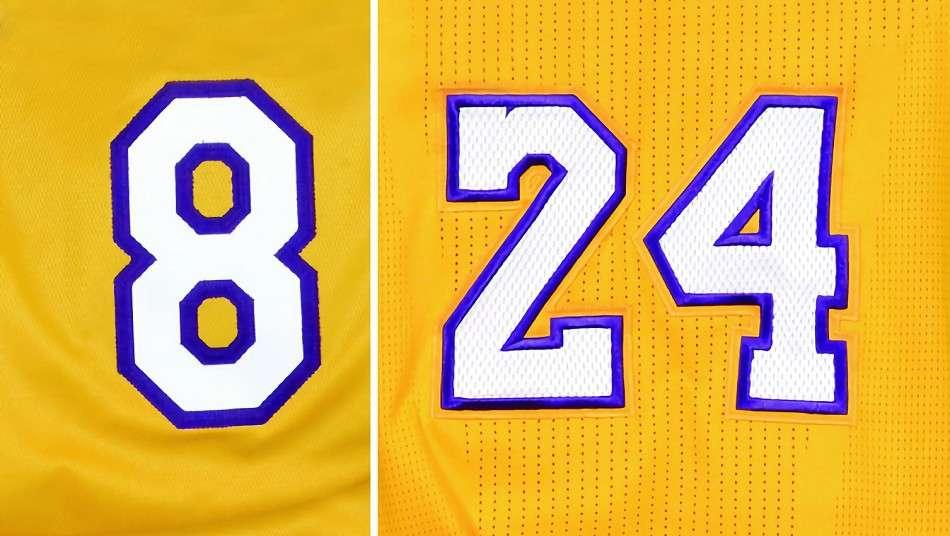 レイカーズがコービー・ブライアントの8番と24番を永久欠番化