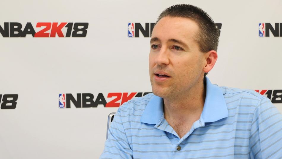 NBA 2K18 エリック・ベニッシュ シニアプロデューサー