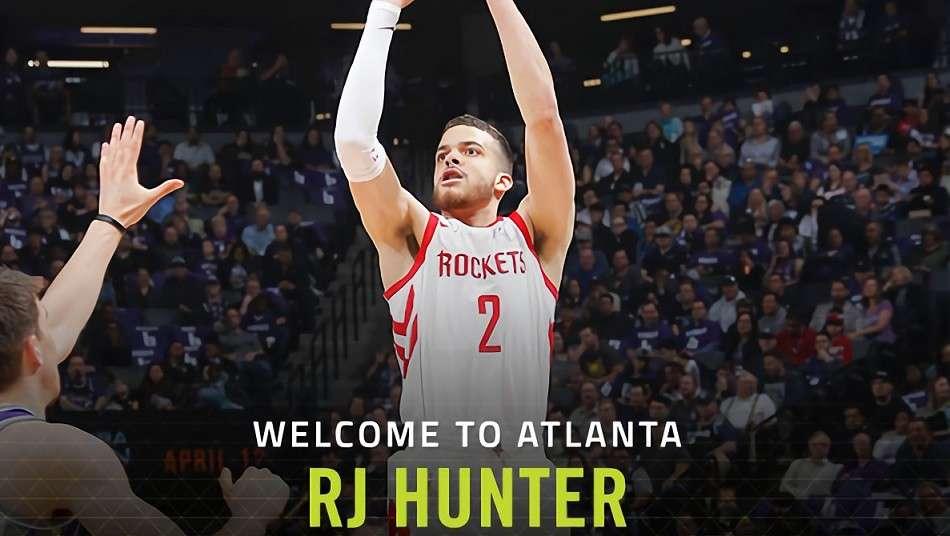 ホークスがR.J.・ハンターと契約