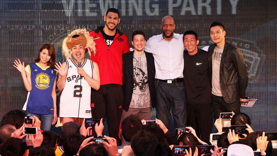 NBA Fan Zone Tokyo Ron Harper Jeff Ayres