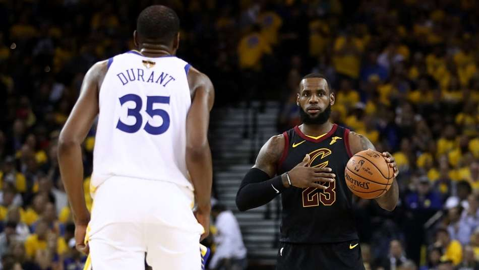 [ライブ速報]NBAファイナル2018 第1戦 ウォリアーズ vs キャブズ