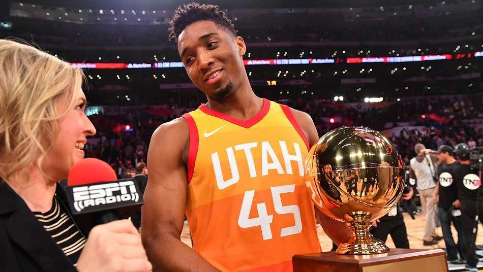 NBAオールスター2018 Verizon スラムダンク写真集