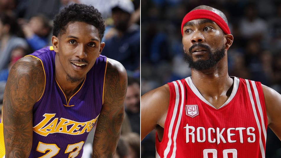 Lou Williams Corey Brewer