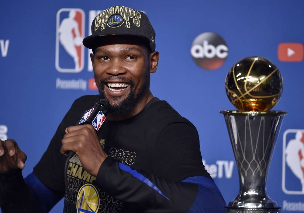 [ギャラリー]NBAファイナル2018 第4戦:ゴールデンステイト・ウォリアーズ vs クリーブランド・キャバリアーズ