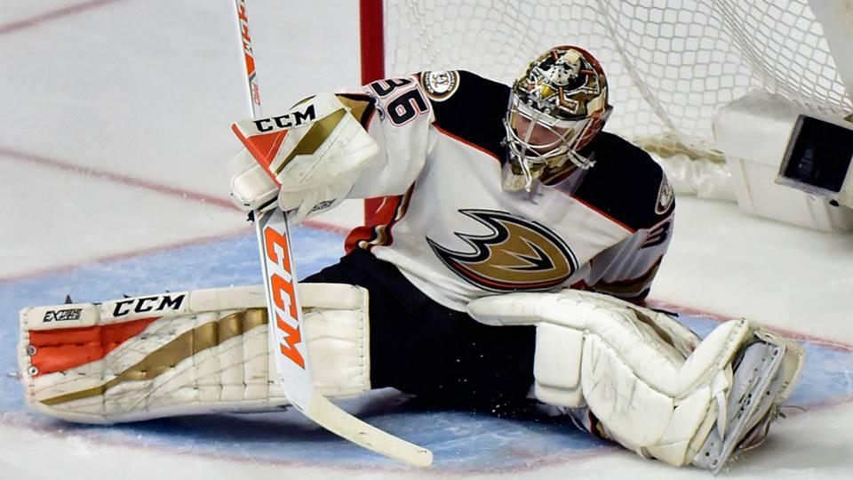 NHL playoffs 2017: Ducks down injured No. 1 goalie John ...