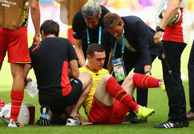 Vermaelen out and Kompany doubtful for Belgium's clash with USA