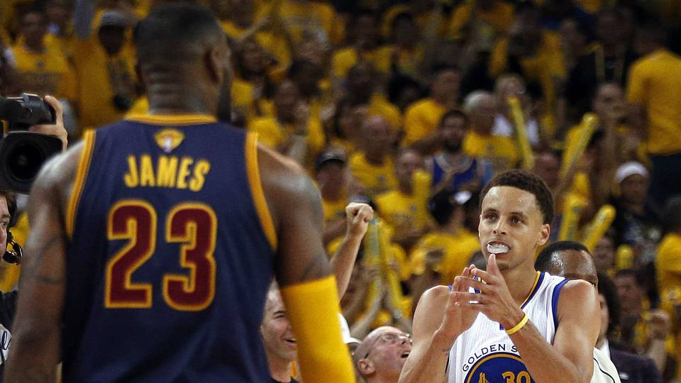 2017 NBA title odds are out already, and Warriors are huge ...