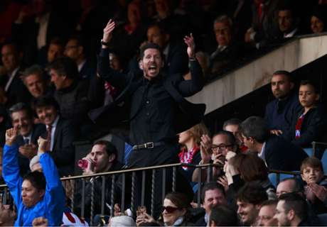 Simeone accepts sending off
