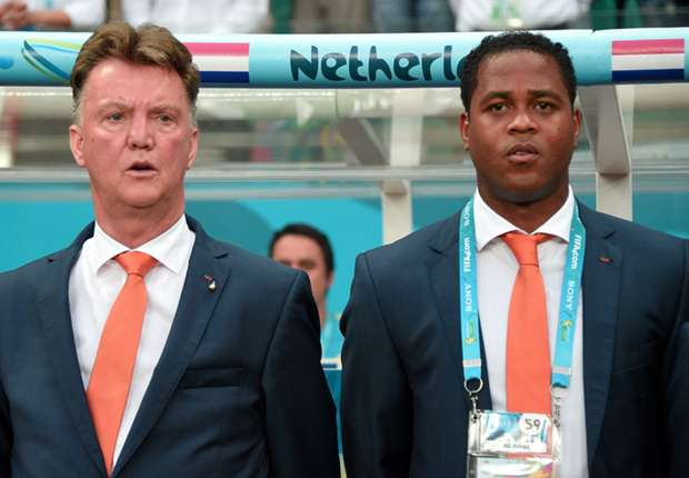 Van Gaal wants to win Premier League in first season - Kluivert