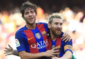 Lionel Messi golea a Monchengladbach e iguala a Cristiano Ronaldo, la apuesta del martes en la Champions League