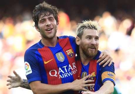 Sergi Roberto sends Madrid warning