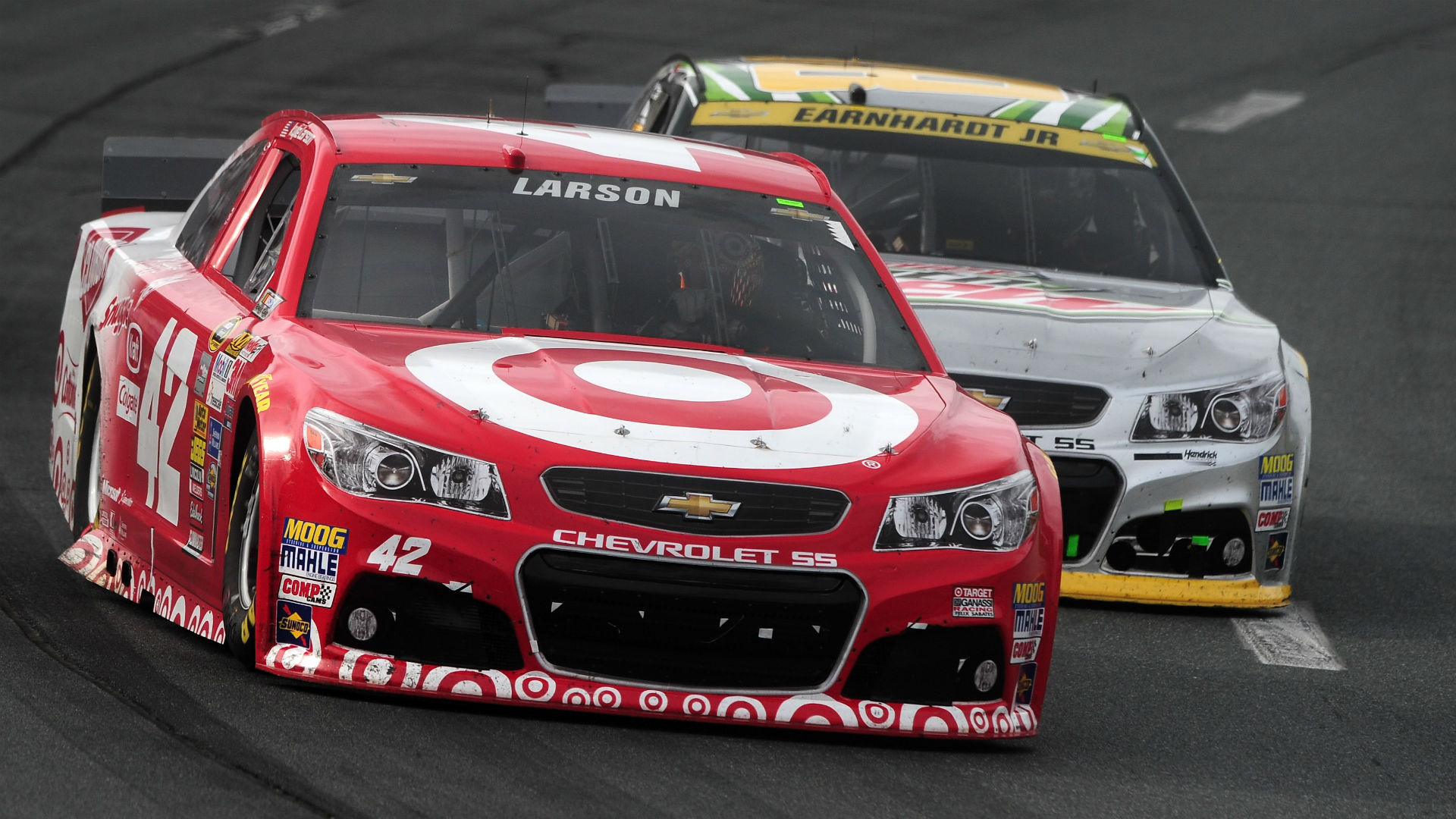 Kyle Larson Left Sponsorless As Target Exits NASCAR